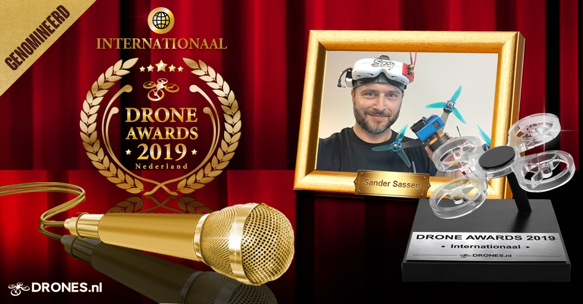 Sander Sassen over zijn Drone Awards 2019 nominatie