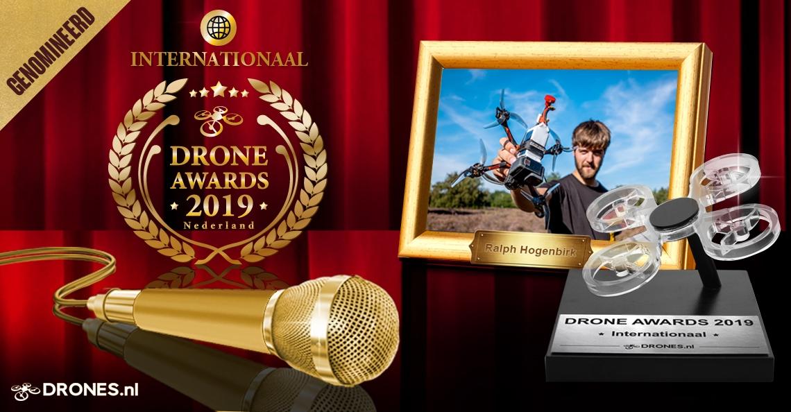 Ralph Hogenbirk over zijn Drone Awards 2019 nominatie