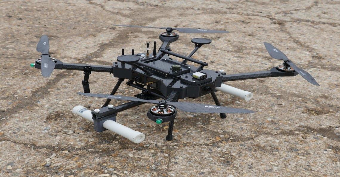 ISS Aerospace presenteert waterstofdrone met twee uur vliegtijd