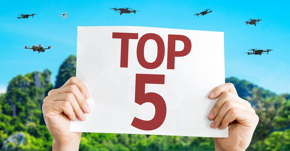Top 5 camera drones onder 500 euro