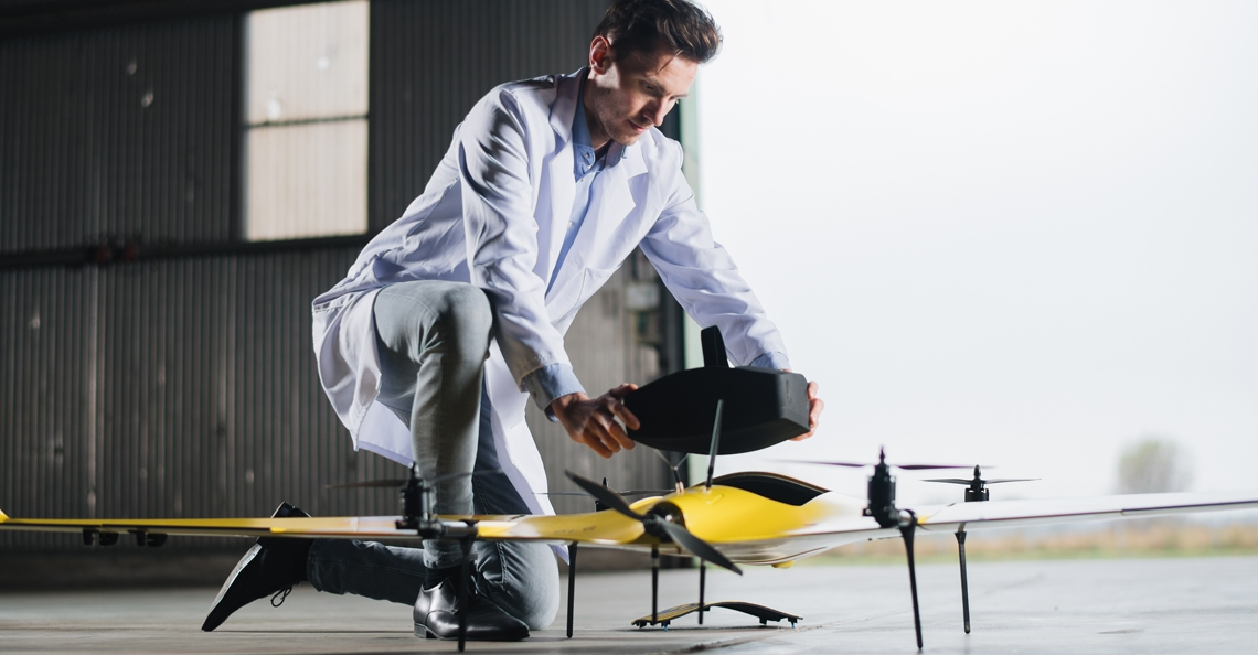 Rotterdam start pilot met medische dronebezorging
