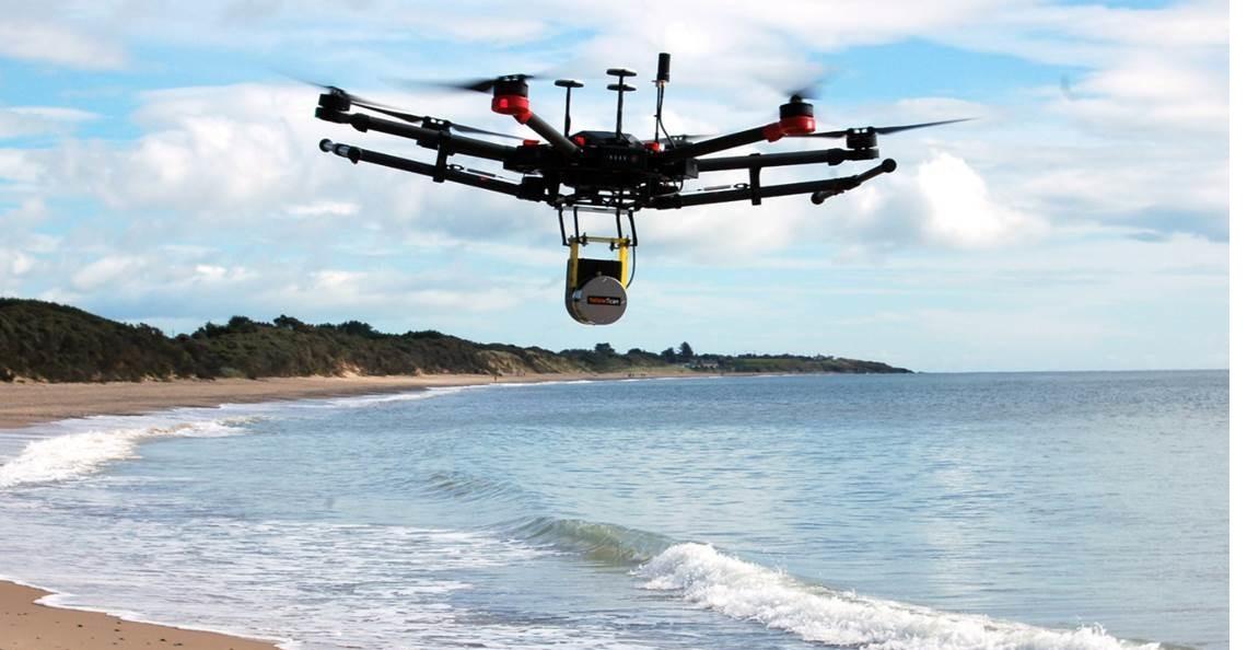 Drone met LiDAR ontdekt vergeten concentratiekamp uit de Tweede Wereldoorlog