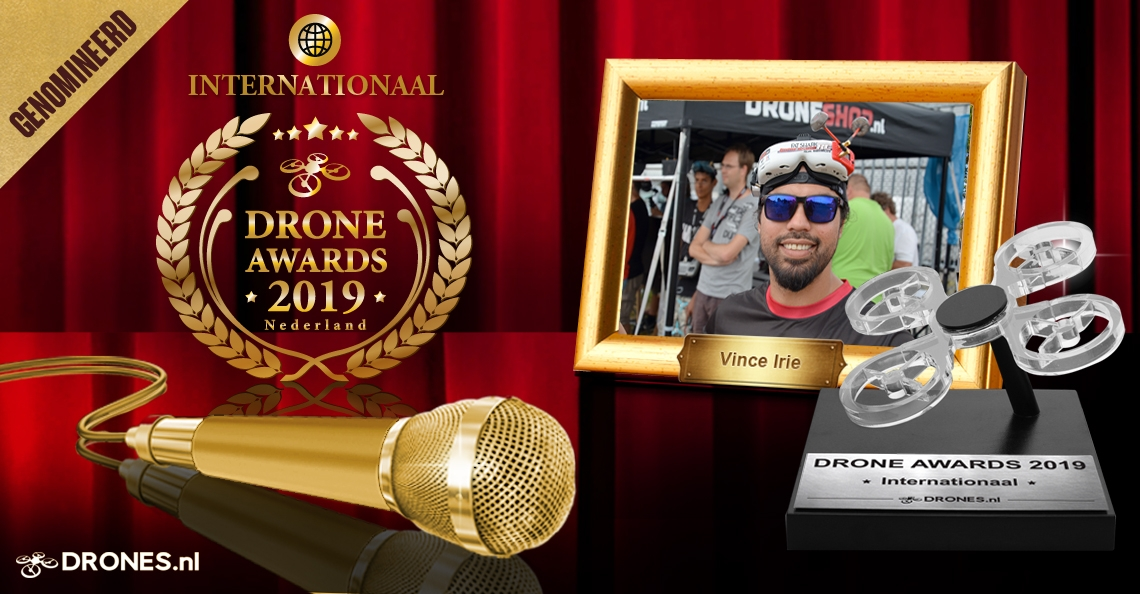 Vince Irie over zijn Drone Awards 2019 nominatie