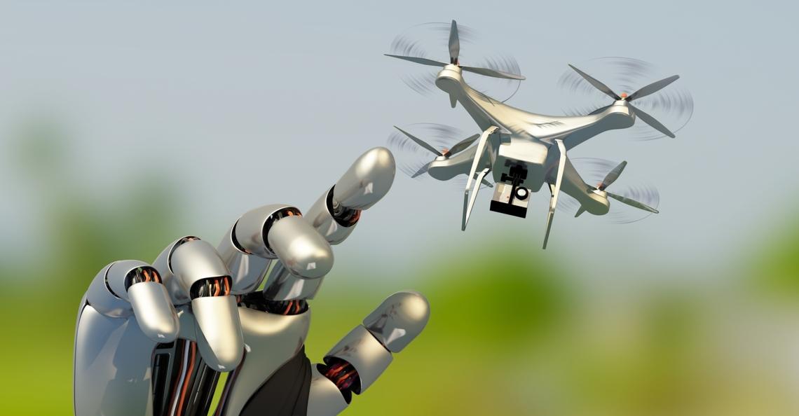 Saxion ontvangt grote subsidie voor ontwikkelen drone met robotarm