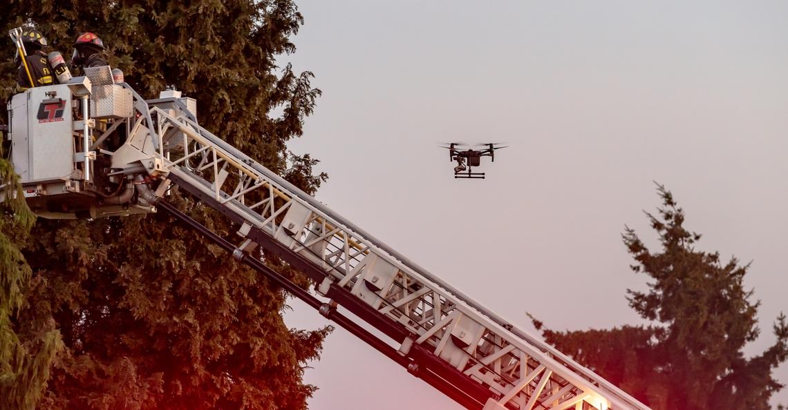 Vlaamse brandweer zet in 2020 drones in