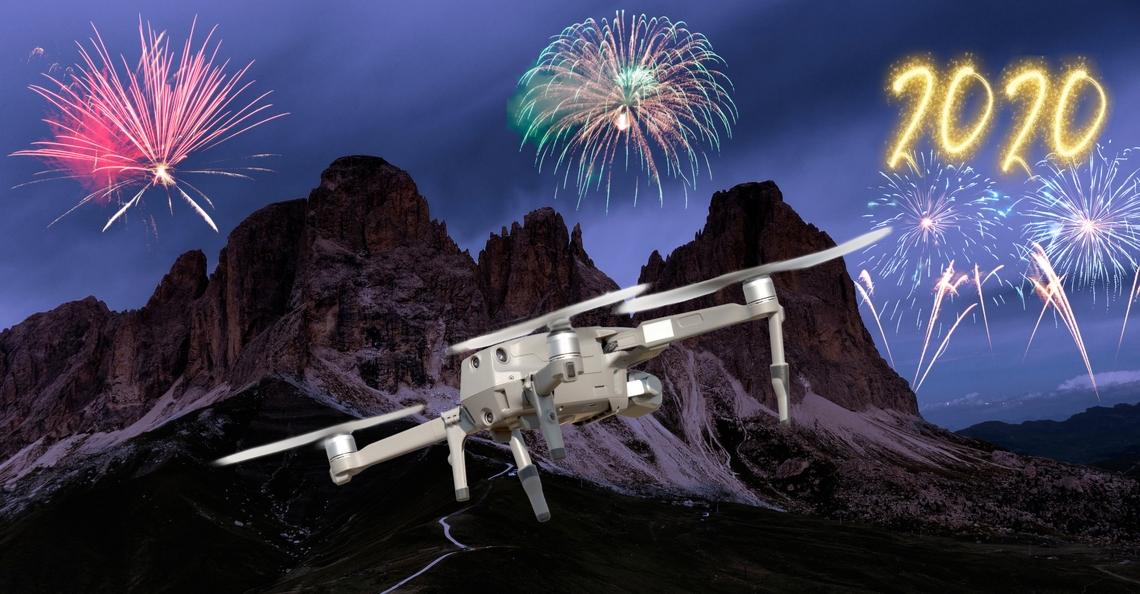 Vlaamse drones speuren naar illegaal vuurwerk tijdens eindejaarsperiode