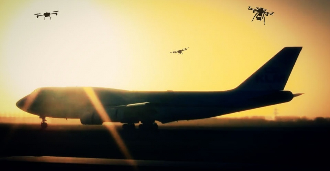 Argentijns vliegtuig botste met drone
