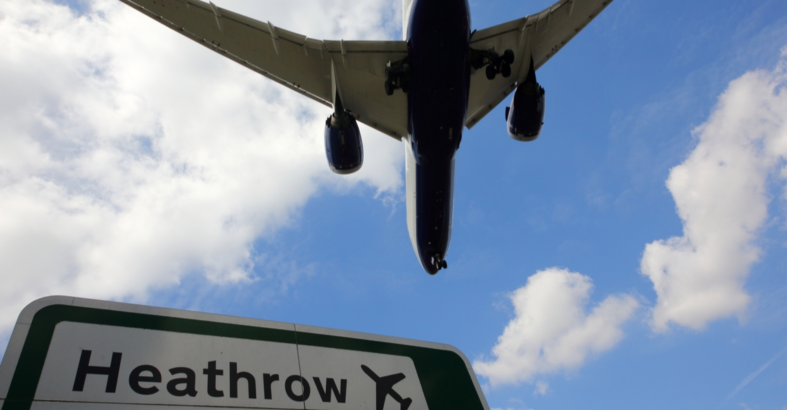 Heathrow Airport plaatst anti-dronesystemen