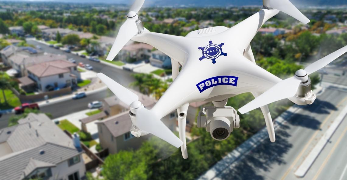 Howard County Police gaat drones testen tijdens velddiensten