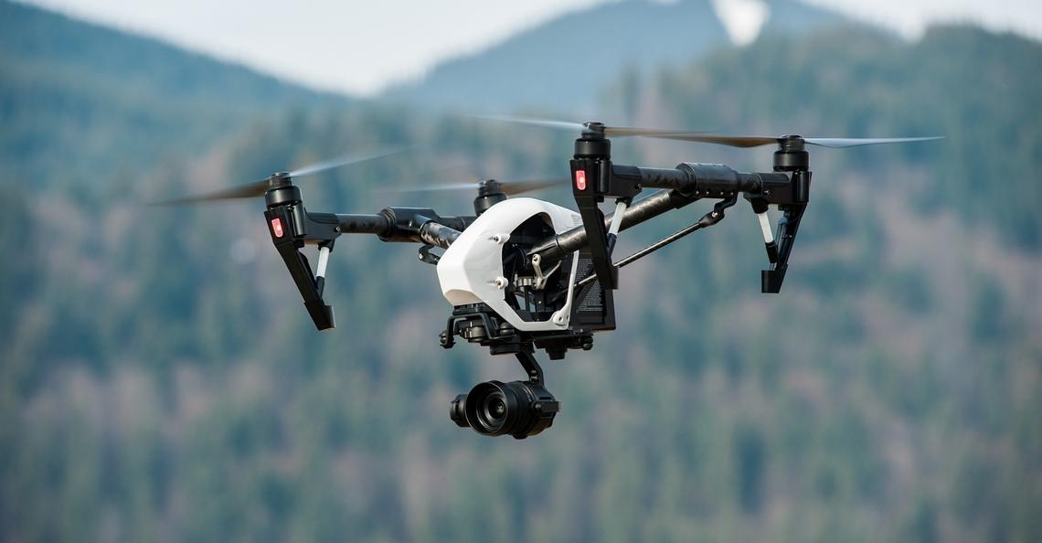 Politie Connecticut gebruikt drone om gedesoriënteerde blinde man op te sporen