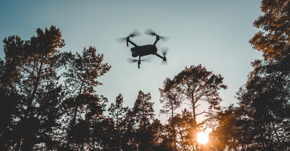 Drones gaan in Australie waarschuwen voor bosbranden