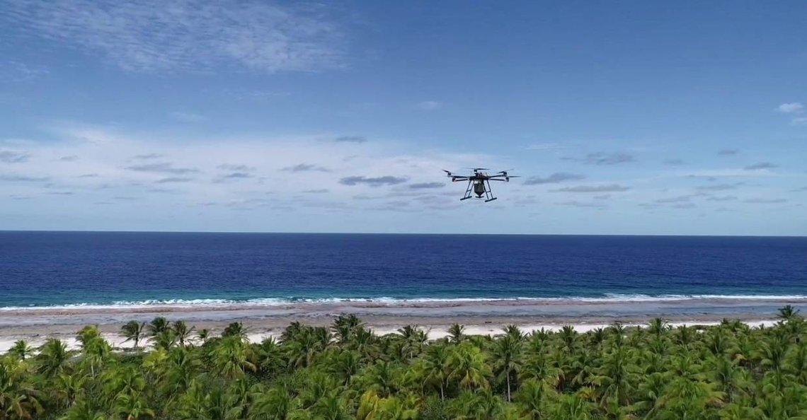 Met gif beladen drones strijden tegen plagen in Nieuw Zeeland