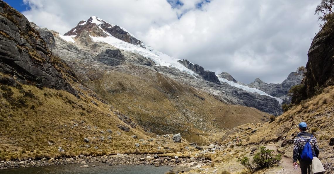 Andes-gebergte in kaart gebracht met drones