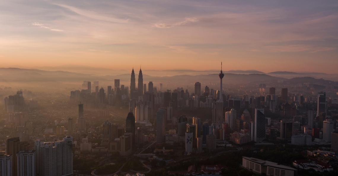 Kuala Lumpur test drones om gebouwen te desinfecteren