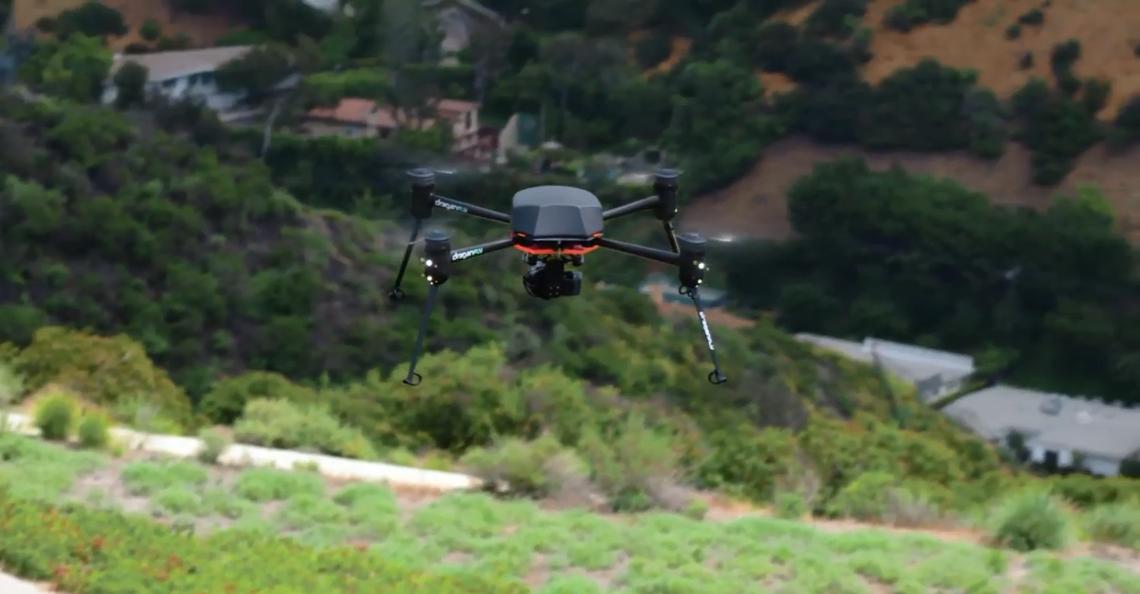 Pandemie-drone uit de lucht gehaald na demonstraties