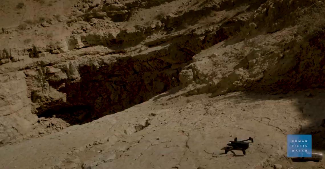 Parrot drones helpen met opsporen IS-massagraf in Syrïe