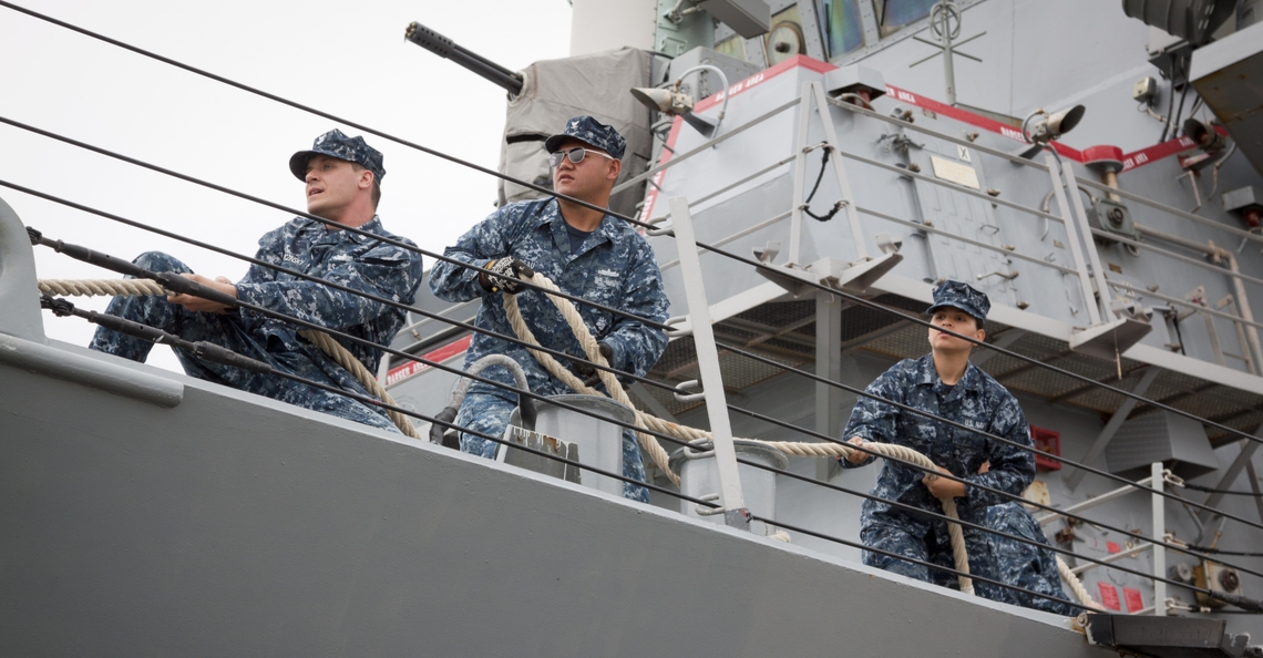 Amerikaanse Marine test laserkanon op drone