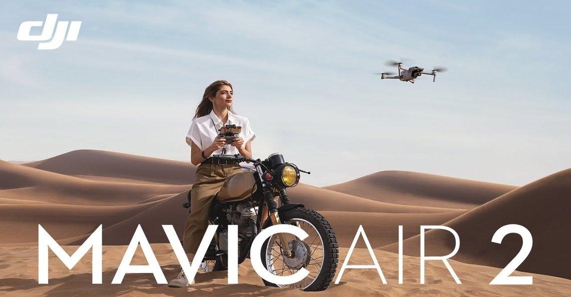 Nieuwe firmware update DJI Mavic Air 2 beschikbaar