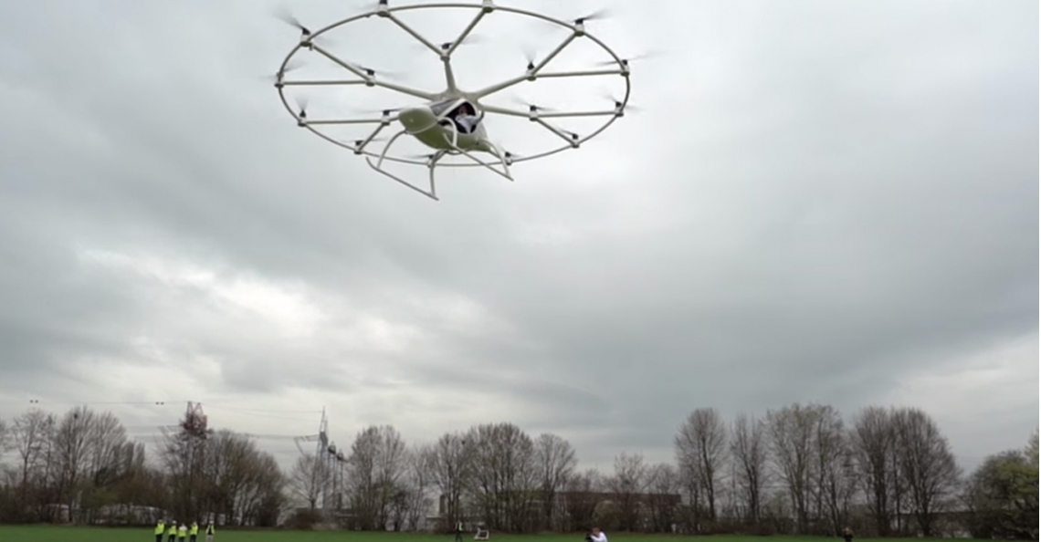 Volocopter start met testvluchten van luchttaxi