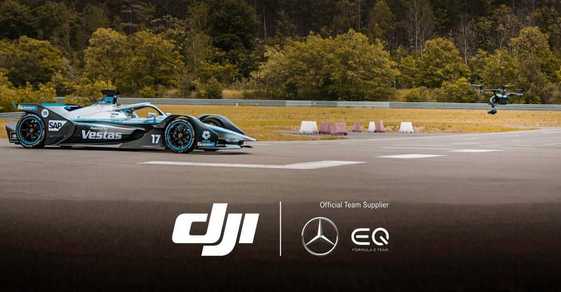 DJI levert drones aan Mercedes-Benz EQ Formula E-team
