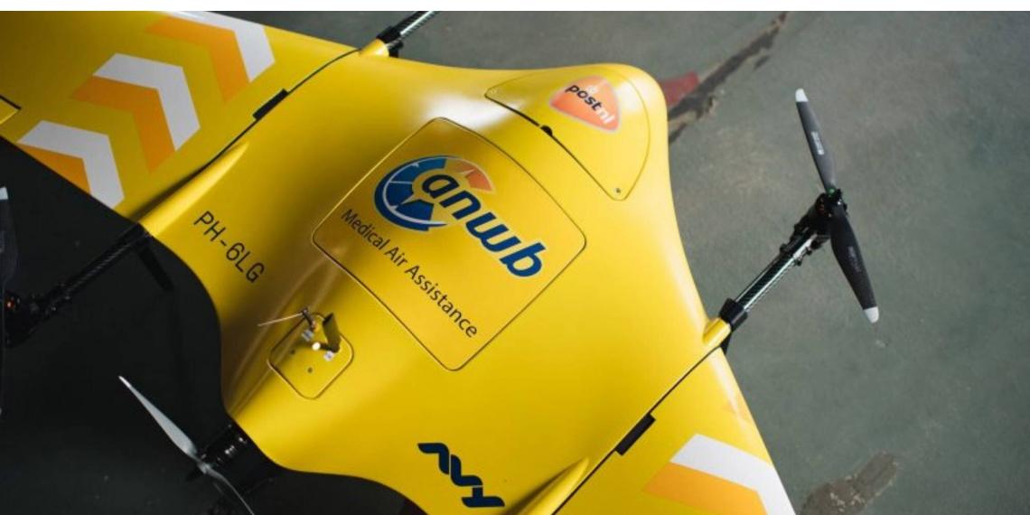 Medische drone vliegt BVLOS tussen Meppel en Zwolle