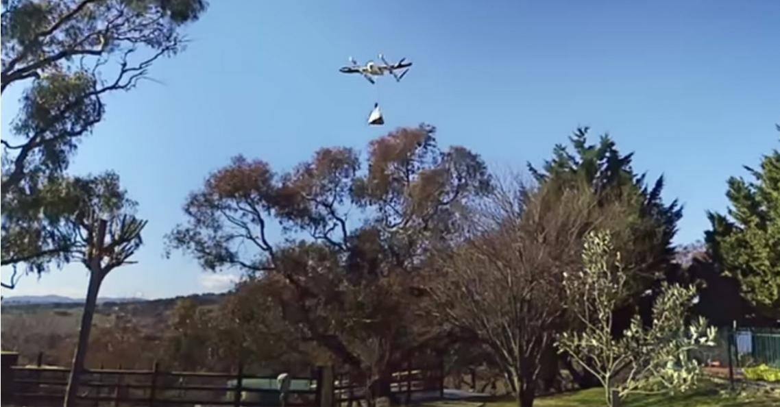 Britse overheid onderzoekt bezorgen per drone op het platteland