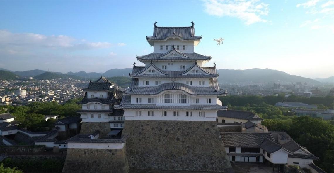Japan Airlines stuurt drones naar bergachtige gebieden