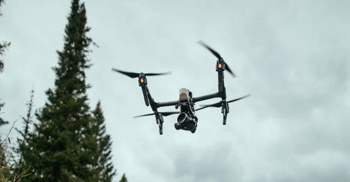 Vermiste vrouw gevonden met behulp van drone