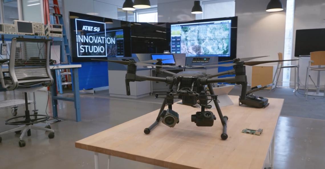 AT&T zet in op innovatie met drones en 5G