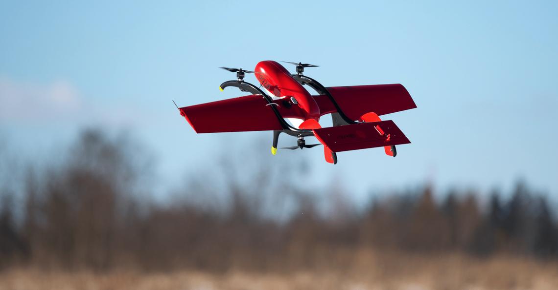 FIXAR werkt samen met Volatus Aerspace aan massaproductie VTOL-drone
