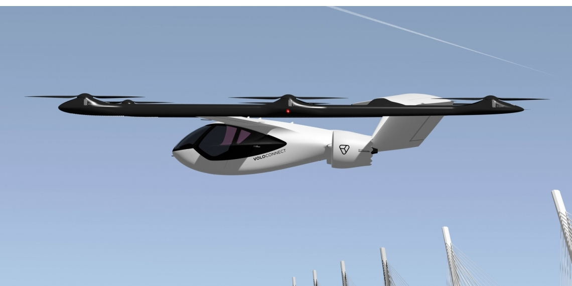 Volocopter onthult vier-persoons luchttaxi