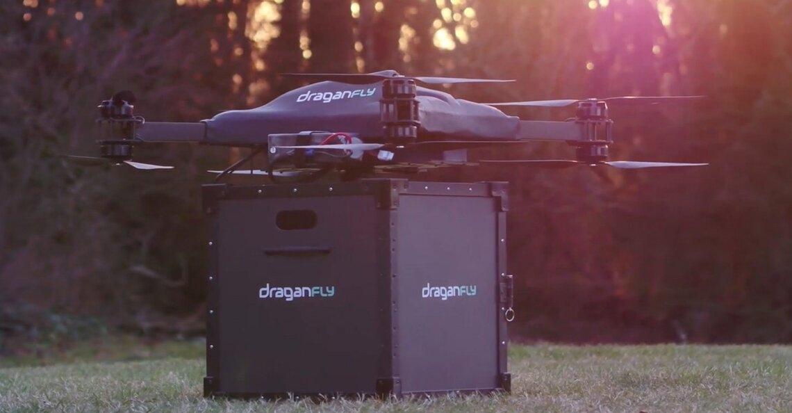 Draganfly start met dronebezorging van COVID-19-vaccin op platteland van Texas