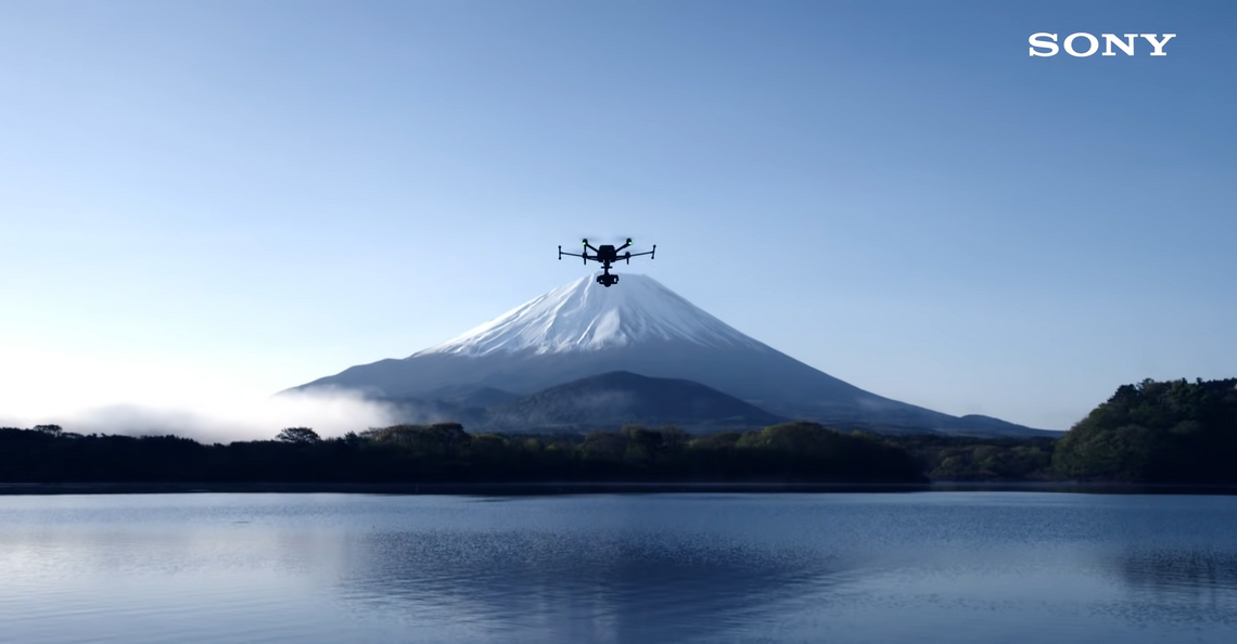 Sony kondigt Airpeak-drone officieel aan