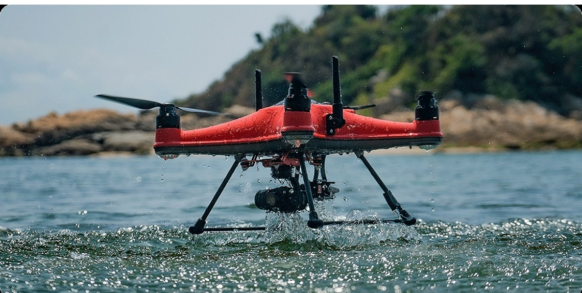 SwellPro lanceert waterbestendige SplashDrone 4