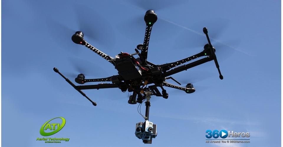 360 graden video's maken met je drone