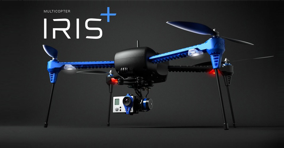 3D Robotics introduceert IRIS+ Personal Auto-Follow drone