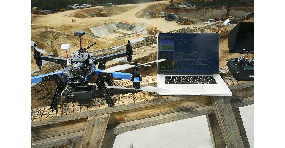 3D Robotics mapping drones maken landkaarten