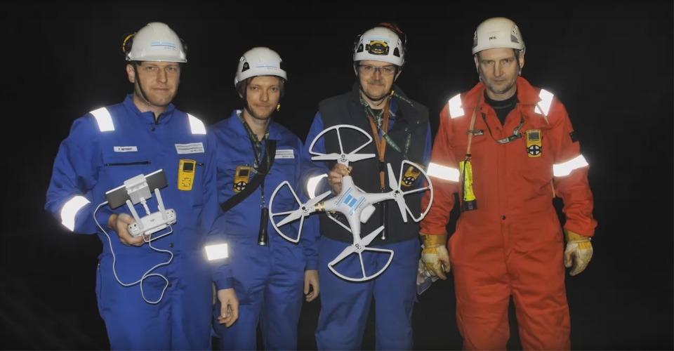 DNV GL gebruikt drones bij het inspecteren van schepen