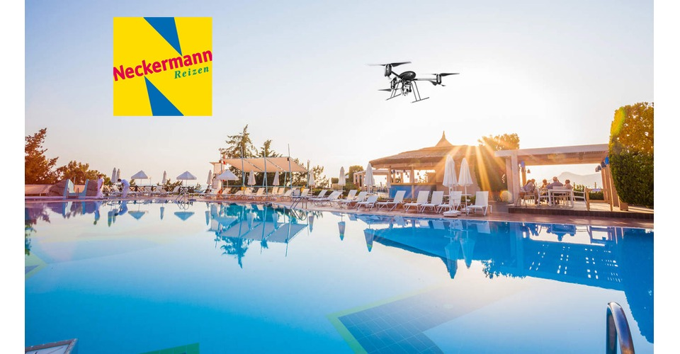 Neckermann filmt hotels met drones
