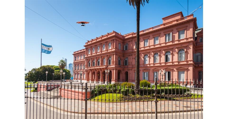 Drone spoort belastingontduikers in Argentinië op