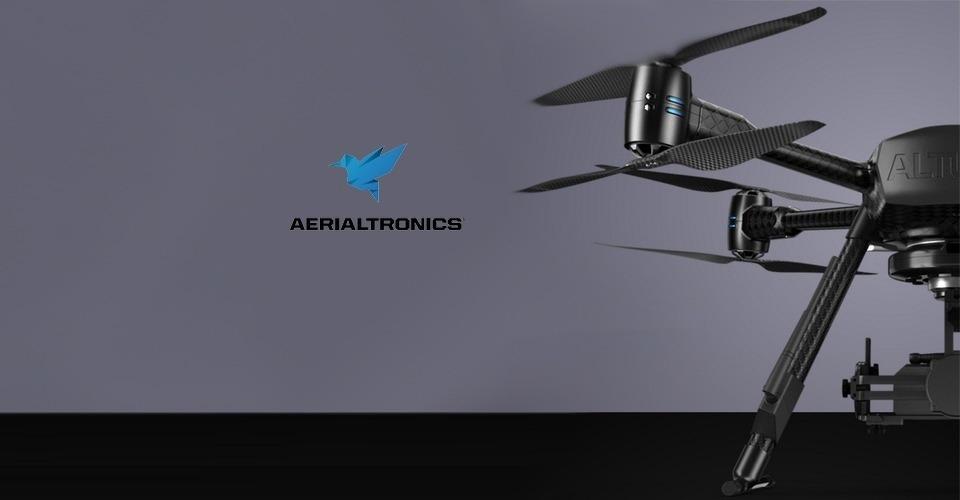 Aerialtronics introduceert unieke sensoren voor meting gas en straling