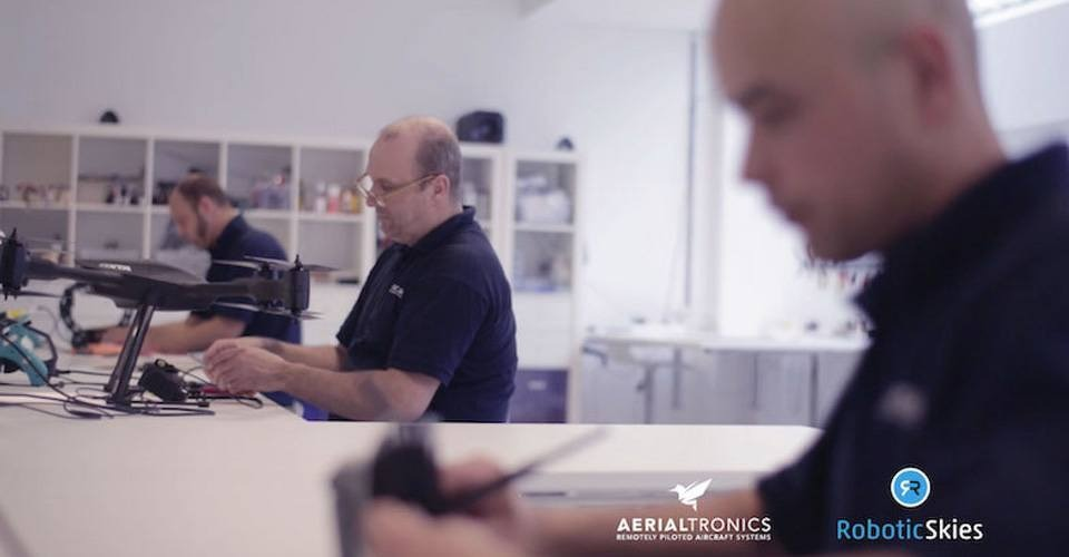 Aerialtronics slaat handen ineen met Robotic Skies