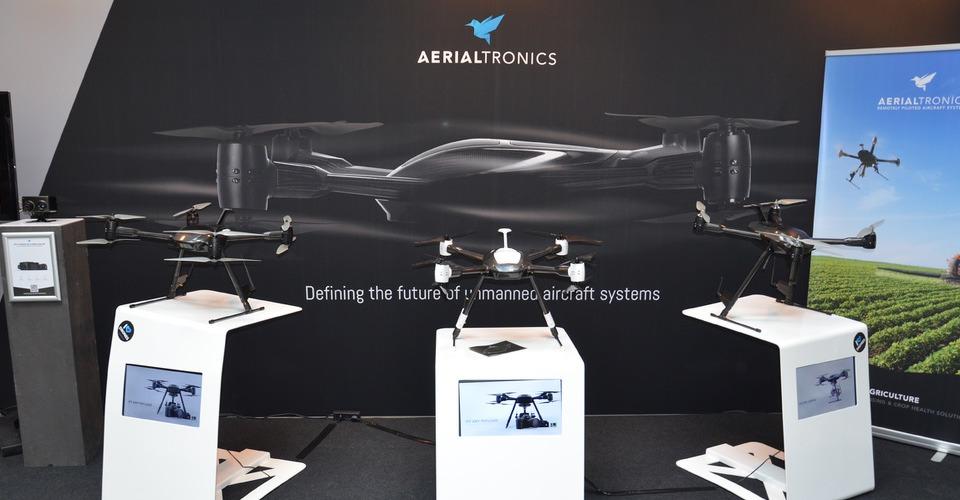 Lucas van Oostrum van Aerialtronics is niet geïnteresseerd in drones