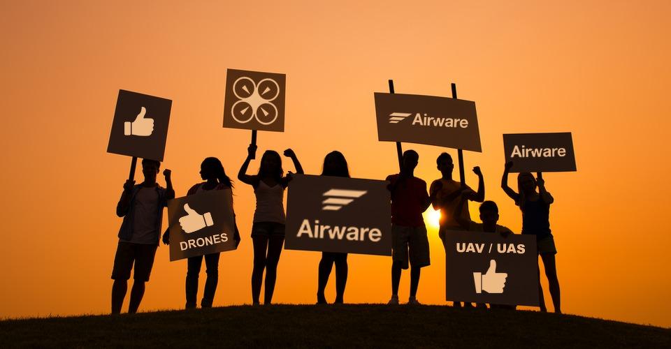 Airware roept op tot aantekenen bezwaar tegen staat Californië
