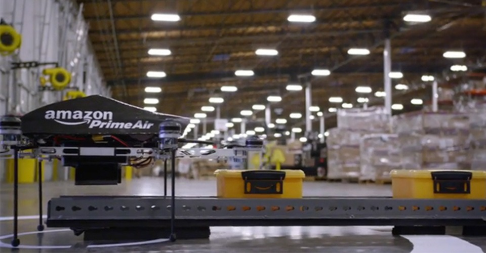 Patent onthult Amazon's drones bezorgplannen