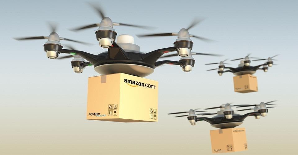 Amazon doet voorstel voor luchtruim voor bezorgdrones