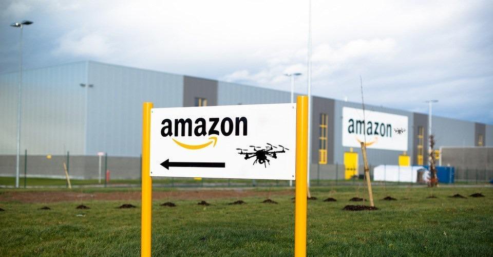 Amazon dreigt drone-onderzoek uit VS weg te halen