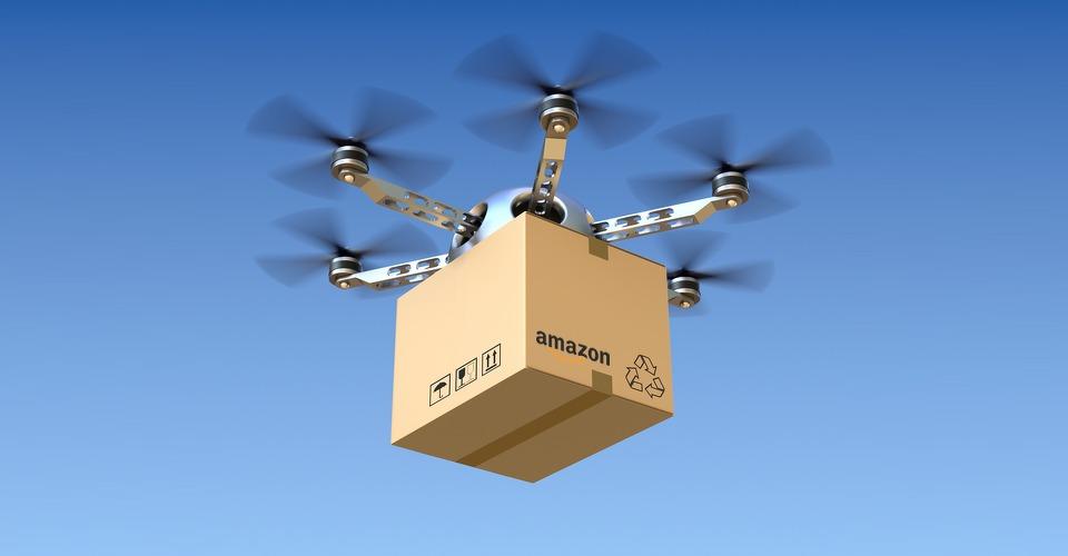 Amazon wil echt drones inzetten voor pakketbezorging