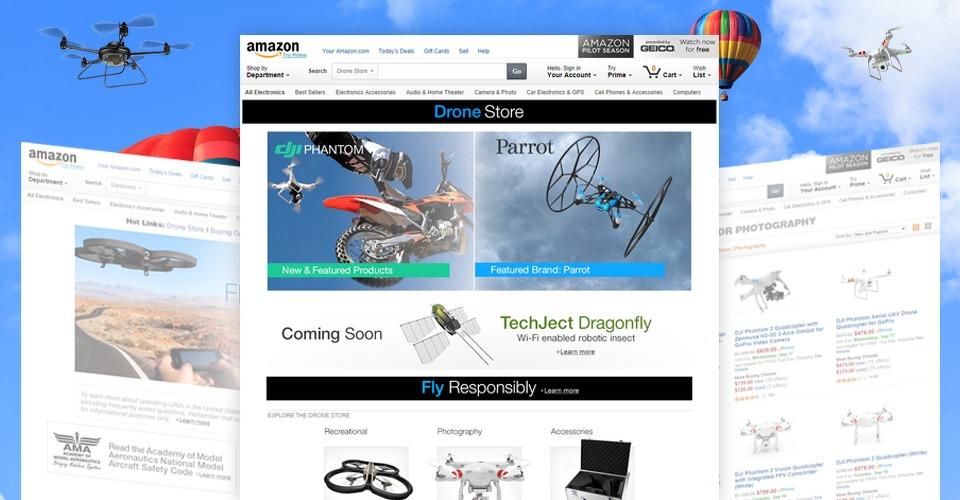 Amazon gaat drones verkopen
