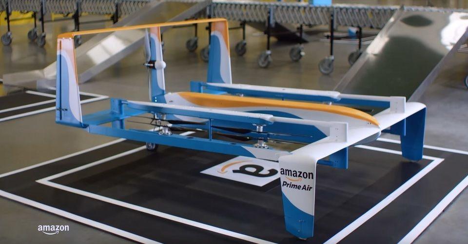 Nieuw prototype Amazon Prime Air bezorgdrone